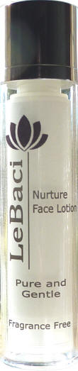 Organic teens, sensitive & rosacea face lotion